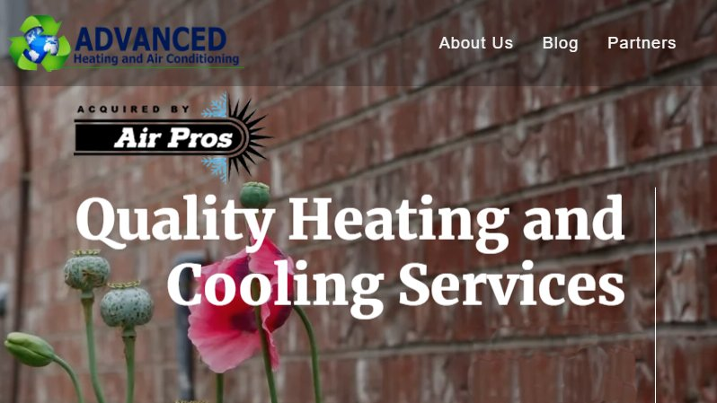 Air Pros USA Acquires Advanced Heating and Air Conditioning