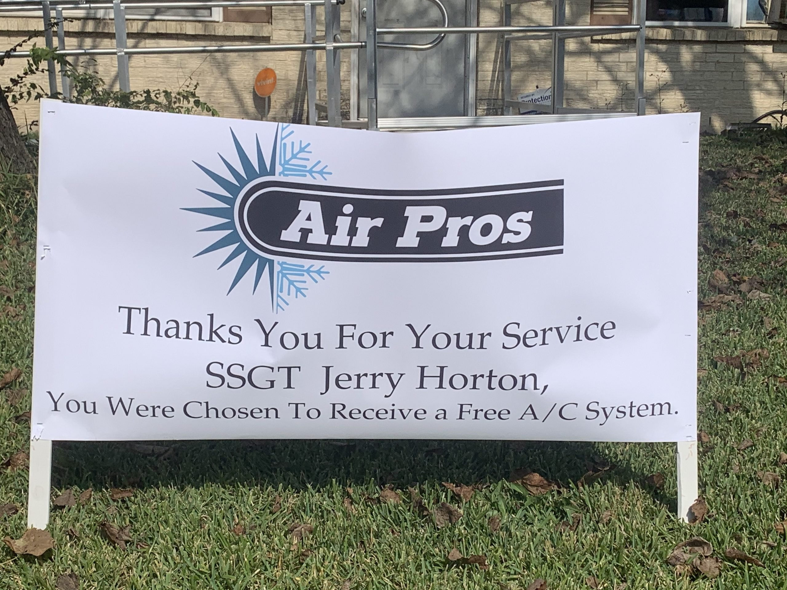 Free A/C Unit From Air Pros USA for Veterans Day