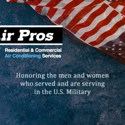 Air Pros USA to Honor A Deserving Veteran With A Free Air Conditioning Unit