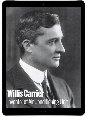 Willis-Carrier-Inventor-of-Modern-Day-Air-Conditioning-Units
