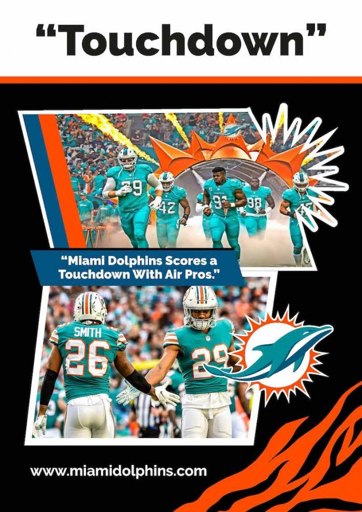 Air Pros USA Named Official AC Partner for the Miami Dolphins