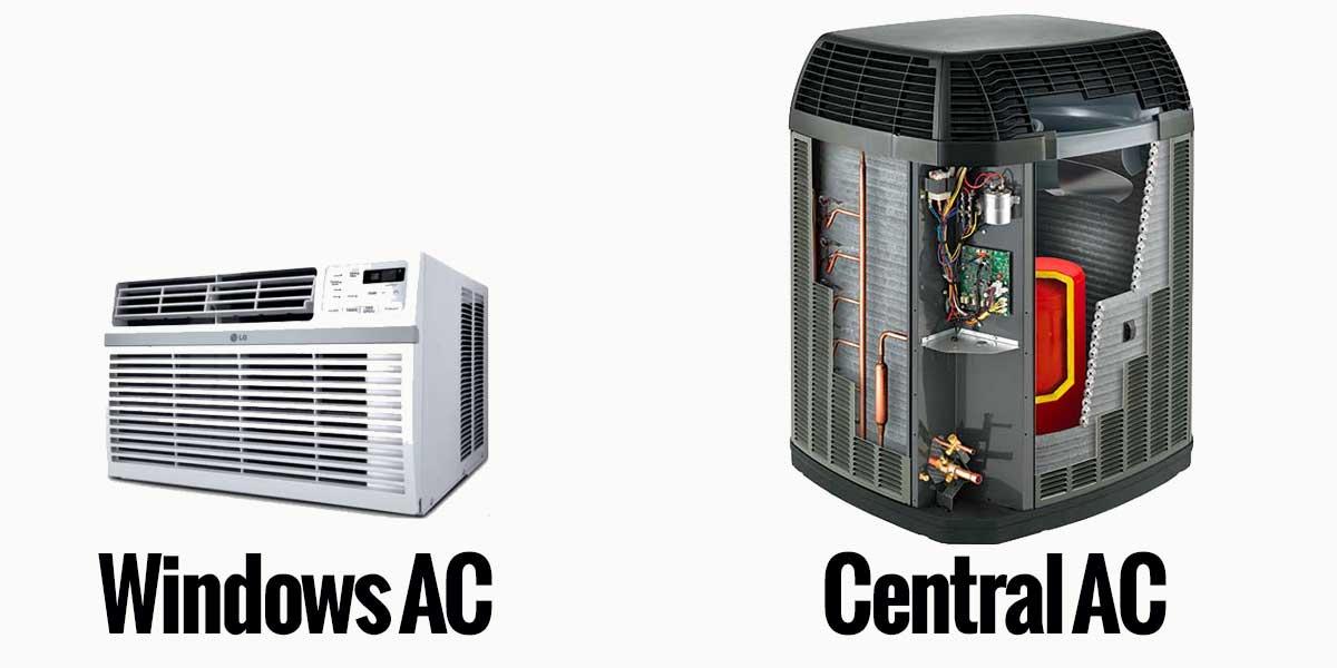 Windows-Unit-Vs-Central-AC-Air-Conditioner-Unit